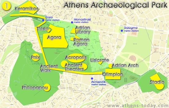 Athens Archeological Park Athens Today Com