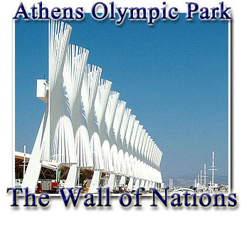 The Wall of Nations - Athens
